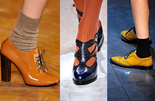 Теплые носки и колготки Dolce & Gabbana завершат осенний образ