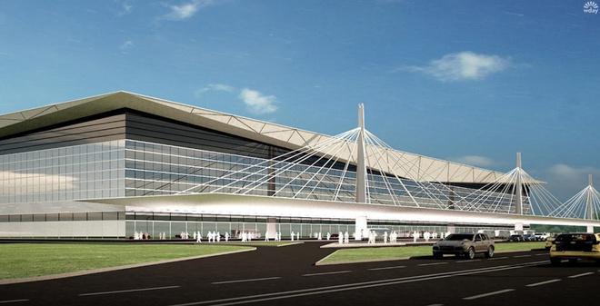 Новый аэропорт в Красноярске