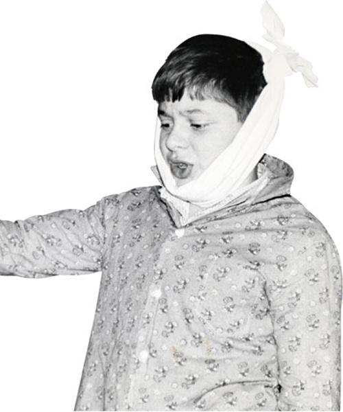 Дмитрий Брекоткин, актер «Шоу Уральские пельмени», в детстве, фото