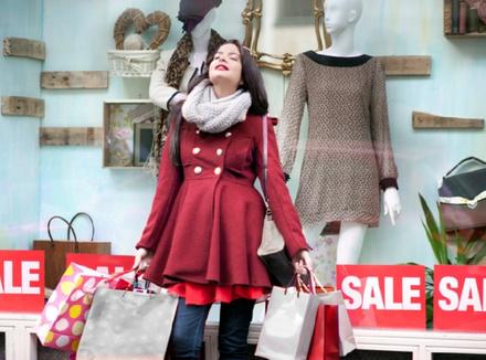 Распродажа как территория счастья