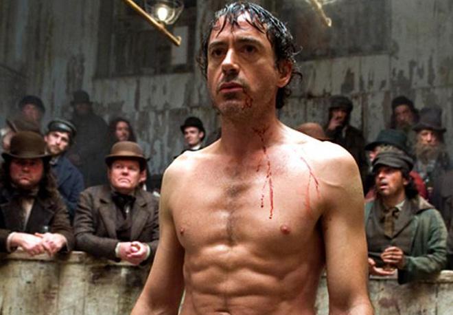 Кадр из фильма о Шерлоке Холмсе