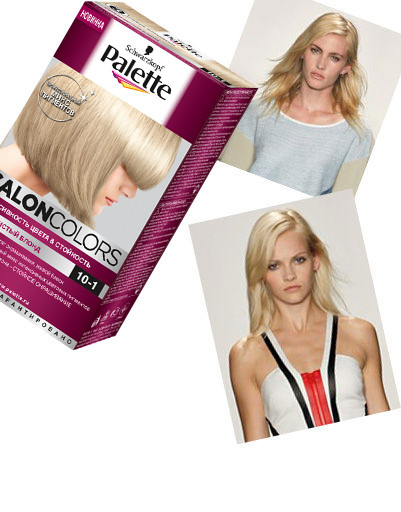 Модные оттенки волос 2013