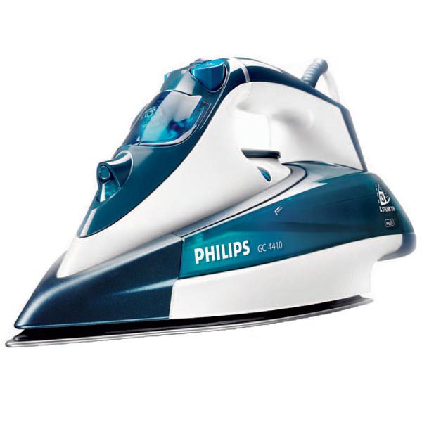 Fashion утюг Philips Limited Edition выполнен в модном дизайне: прозрачный корпус украшают серебристые и красные линии.