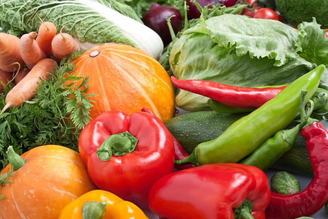 Овощи парниковые и грунтовые