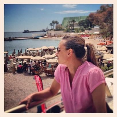 Елена Исинбаева родила дочку в Монако