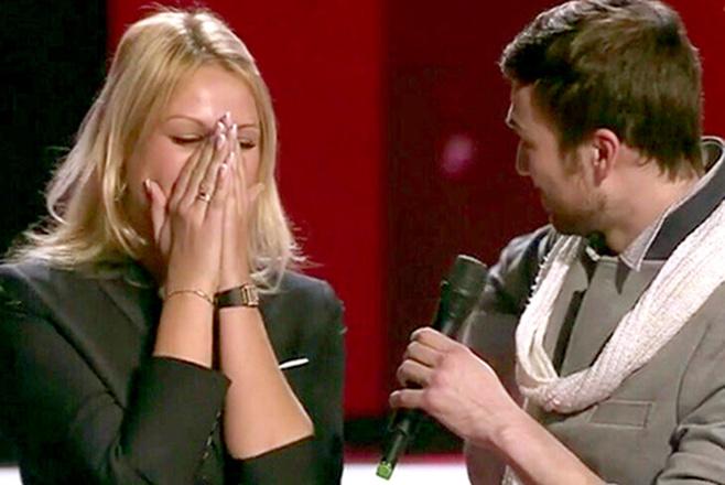 Станислав Обухов участник шоу голос сделал предложение своей девушке