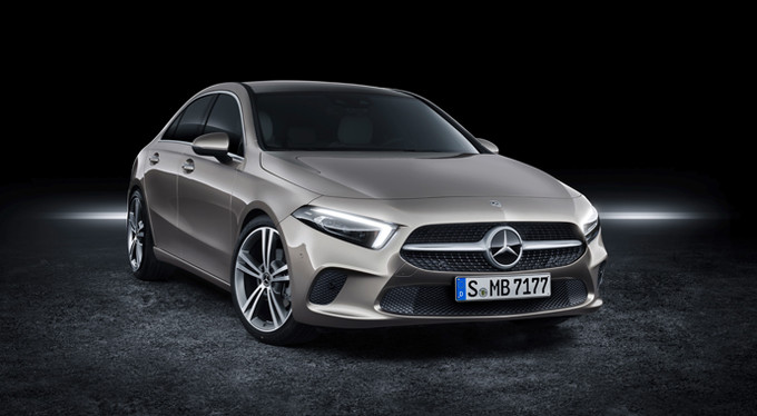 Новый седан A-Класса от Mercedes-Benz