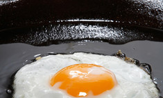 Яичница способствует сжиганию жира