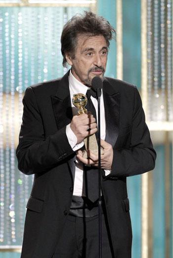 Лучший актер мини-сериала или фильма на – Аль Пачино (Al Pacino) за работу «Вы не знаете Джека».