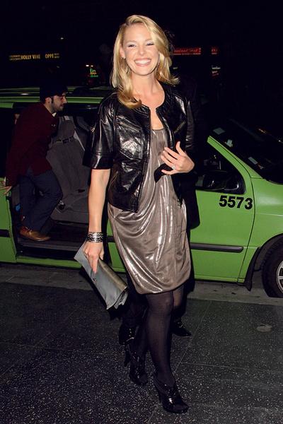 Кэтрин Хайгль в Diane von Furstenberg.