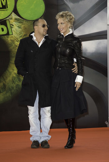 Дмитрий Нагиев и Маша Малиновская