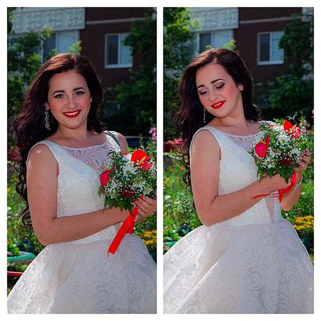 Ксения Политыко, свадьба, фото