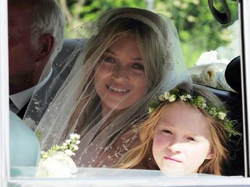 Кейт Мосс, свадьба
