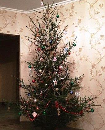 Как украсить елку, фото
