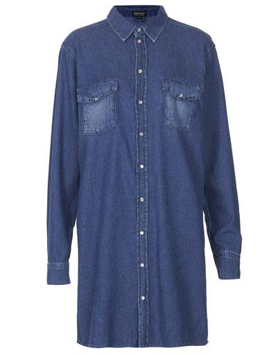 Платье-рубашка Topshop