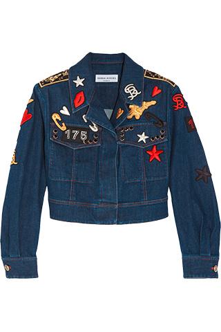 8. Джинсовая куртка, Sonia Rykiel
