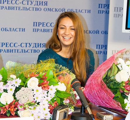 Омск, спорт, самые красивые спортсменки, Евгения Канаева