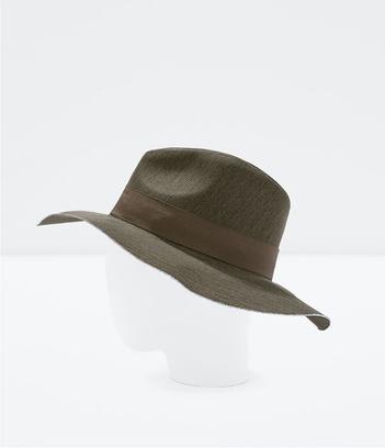 холщовая шляпа