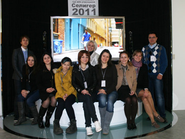 Участники тура LG Electronics