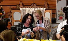 Бабкина научила Волочкову лепить вареники