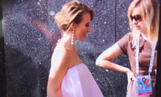 Премия МУЗ-ТВ: Собчак пришла в «беременном» платье