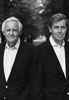 Отцы-основатели компании Oriflame братья Роберт и Йонас Аф Йокник