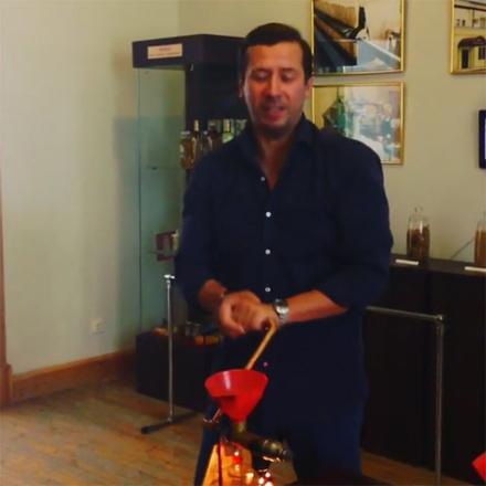 Актер Андрей Мерзликин побывал в музее заповеднике Старая Сарепта