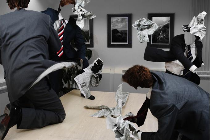 Мужчины на работе