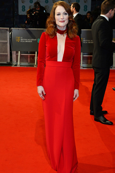 Джулианна Мур на премии BAFTA 2015