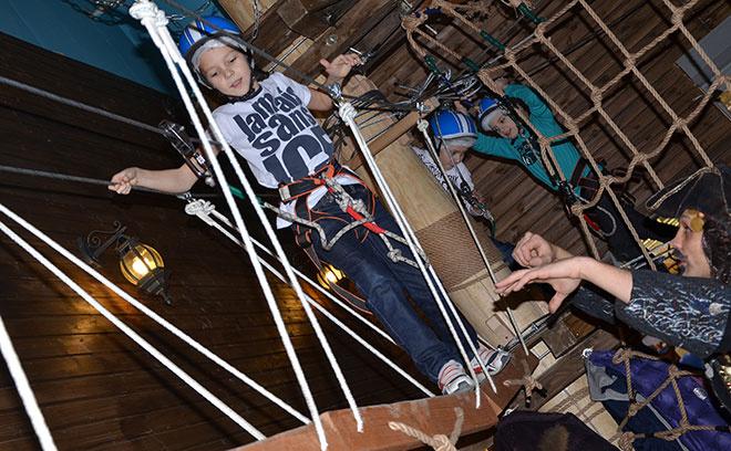 Веревочный парк «Флибустьер»