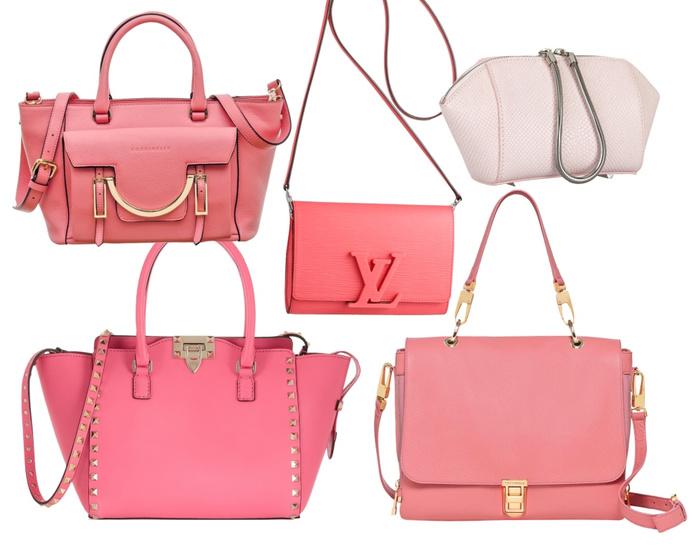 COCCINELLE; Louis Vuitton; ALEXANDER WANG; Valentino; COCCINELLE