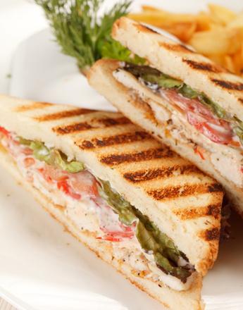 Сэндвич с фуа-гра