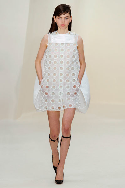 Показ Dior Couture весна-лето 2014
