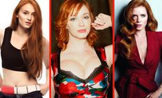 самые горячие рыжие актрисы певицы