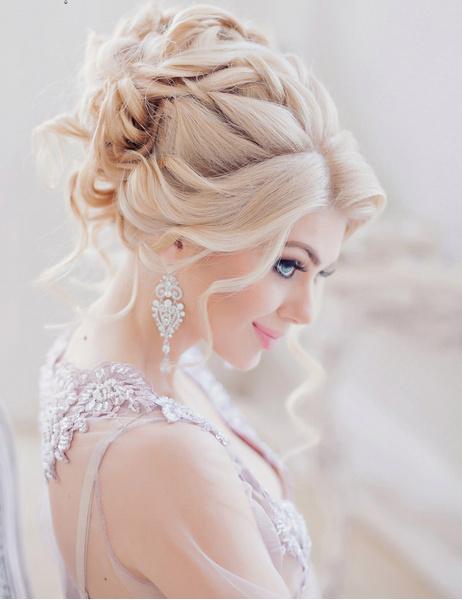 Анна комарова свадебные прически