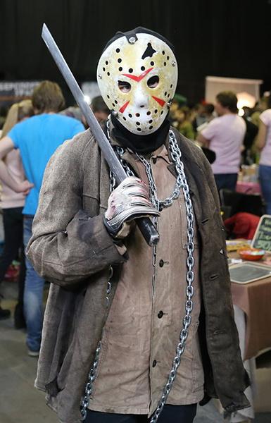 Джейсон Вурхиз, комикс-конвент «Готэм», фото
