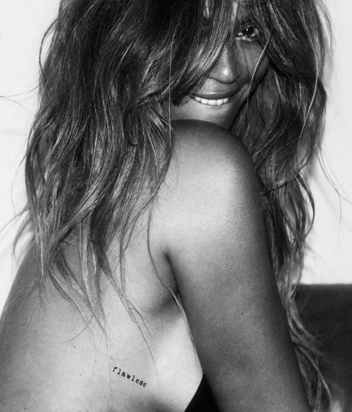 Бейонсе снялась в рекламе собственной коллекции флэш-тату