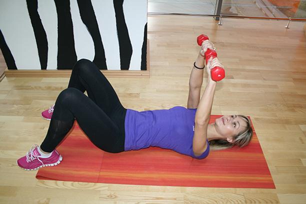 зебра-фитнес, зарядка, тренер, грудь