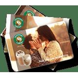 Сертификат на романтический ужин в кафе «Coffeeshop company»