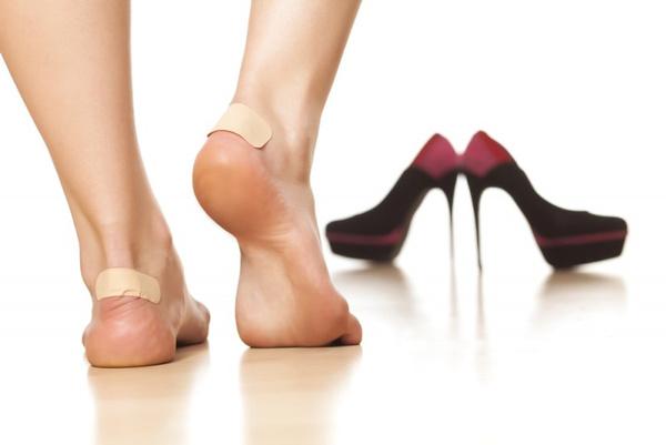 Лечение волдырей на ногах