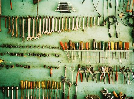 Идеальный порядок в мастерской