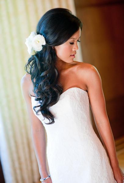 Как украсить цветами свадебную прическу   галерея [4] фото [3]