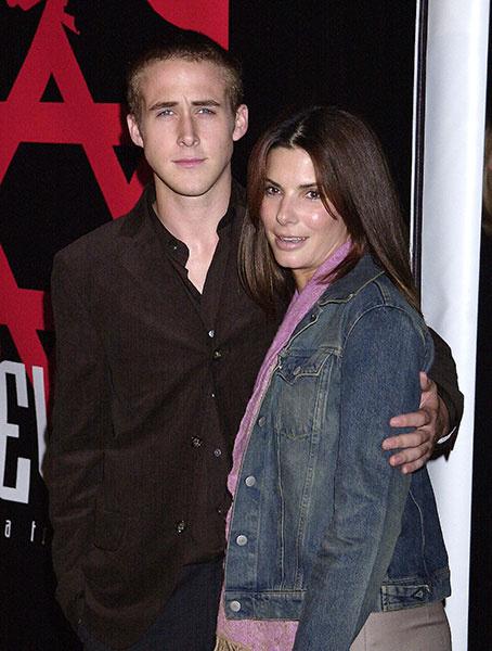 Сандра Буллок и Райан Гослинг, 2001 год
