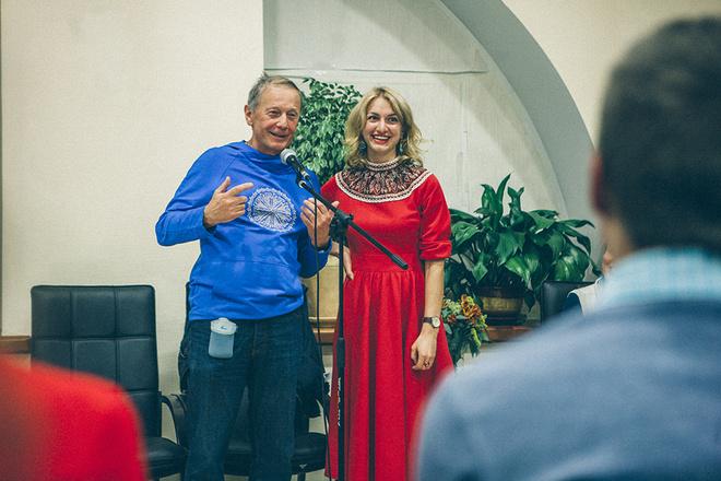 Михаил Задорнов презентовал в Томске фильм