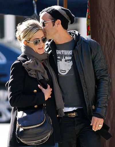 Дженнифер Энистон (Jennifer Aniston) и Джастин Теру (Justin Theroux)