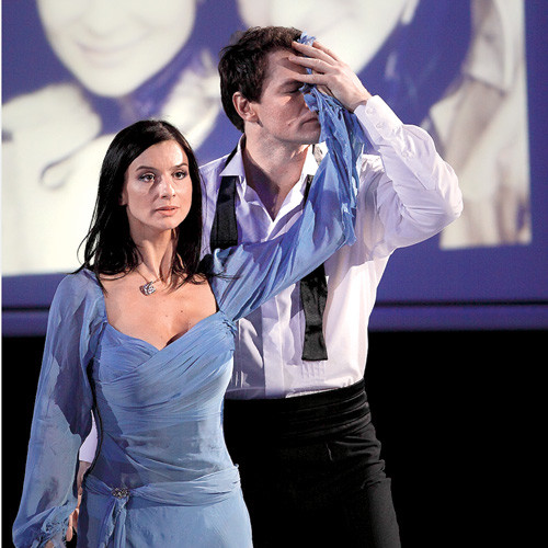 С Алексеем Тихоновым на проекте «Ледниковый период». 2008 год.
