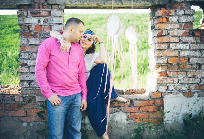 Любовные истории Тулы, Анна и Виталий Гуськовы