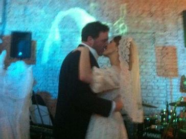 Ксения Собчак и Максим Виторган на собственной свадьбе