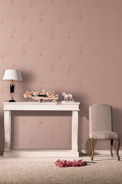 «Припудрить» стены легко при помощи обоев из новой коллекции Palace Garden, Rasch, компания «Евро Декор».