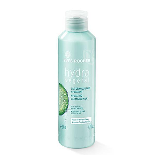 Увлажняющее молочко для снятия макияжа Yves Rocher Hydra Vegetal